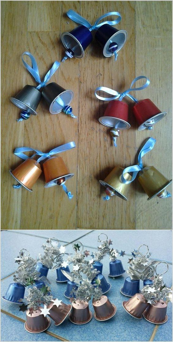 diy decoracao arvore natal sinos