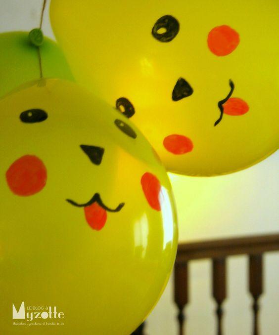 diy decoracao festa pokemon