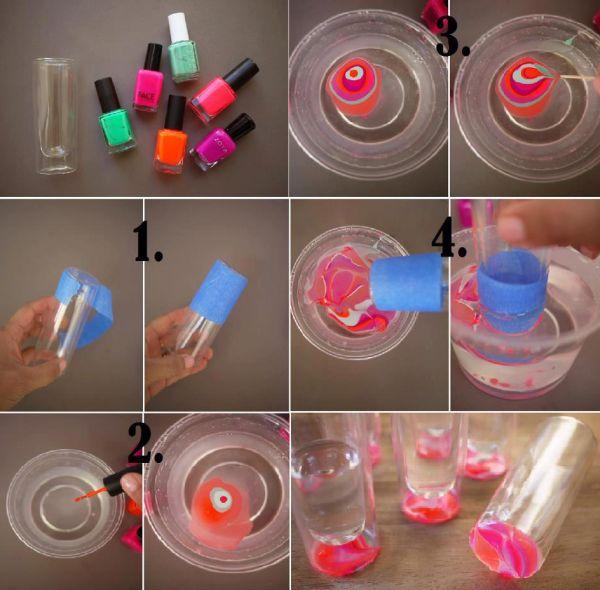 diy decoracao vasos vidro 11