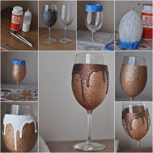 diy decoracao vasos vidro 5