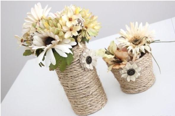 diy decoracao vasos vidro 9