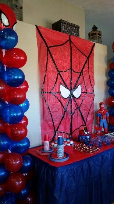 diy festa homem aranha 5