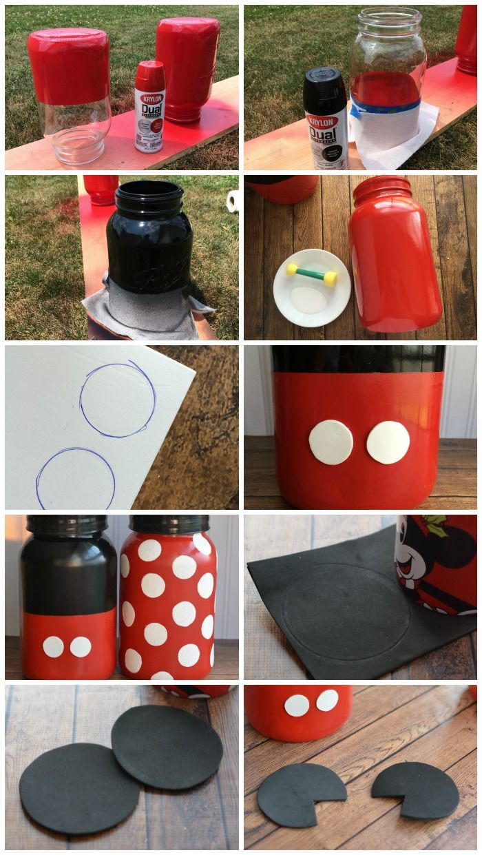 diy festa minnie