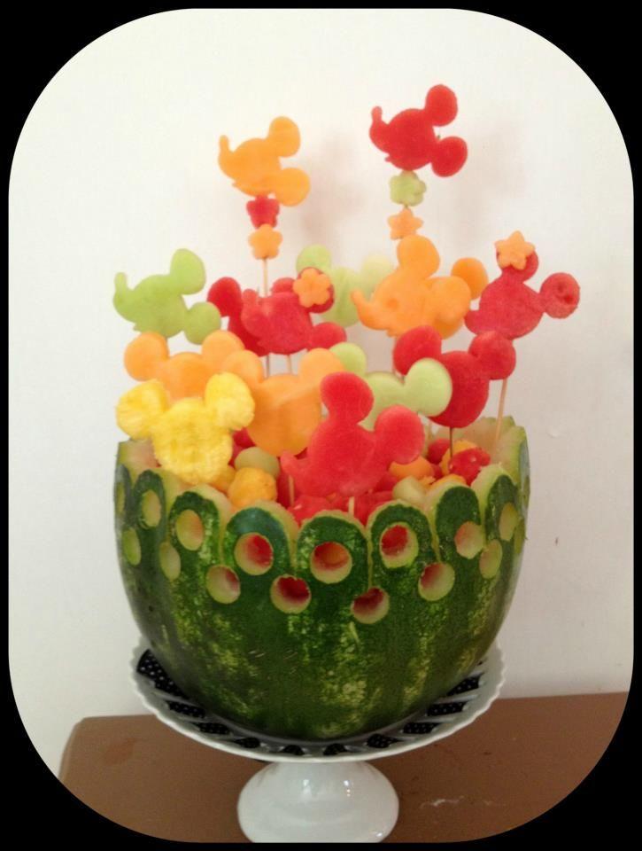 diy fruta festa minnie