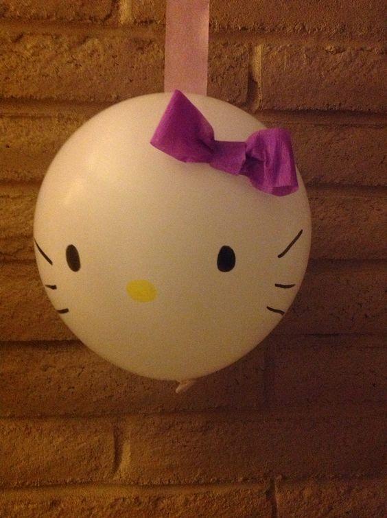 diy ideias festa hello kitty 10