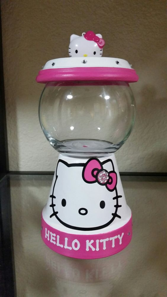 diy ideias festa hello kitty 14