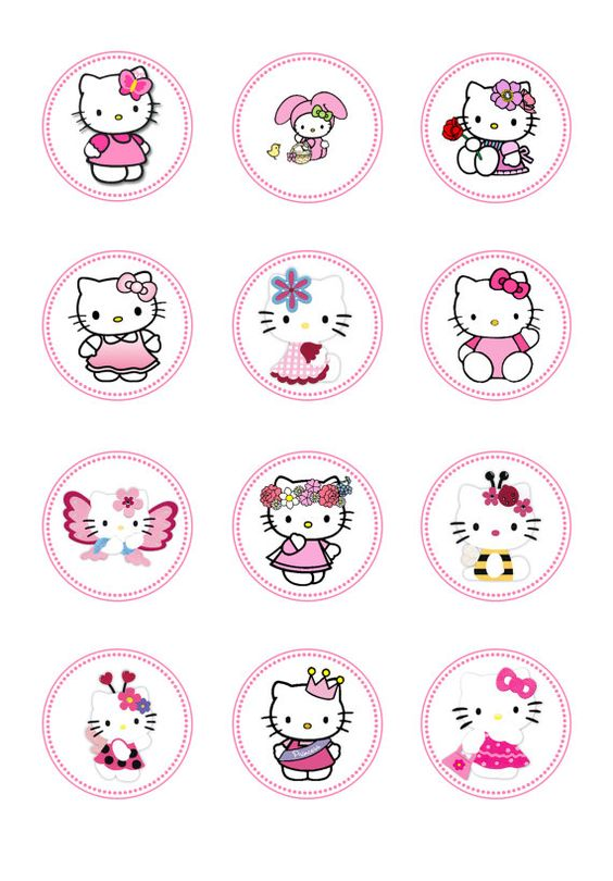 diy ideias festa hello kitty 15