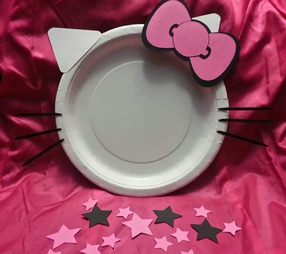 diy ideias festa hello kitty 2