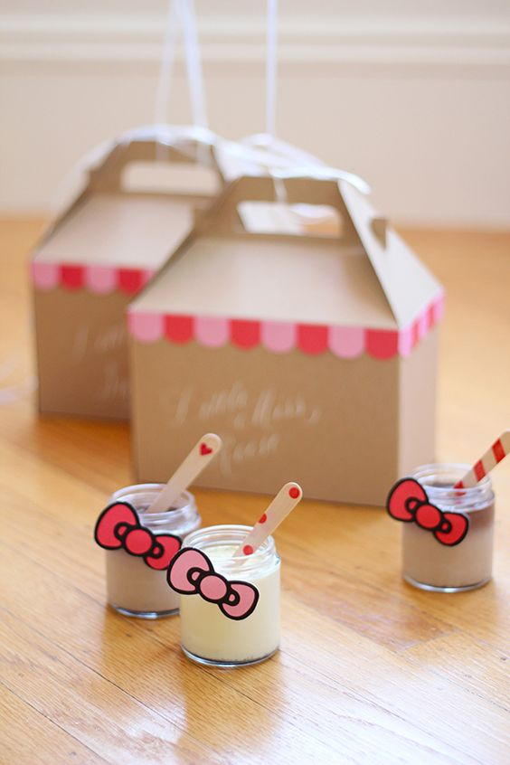 diy ideias festa hello kitty 3