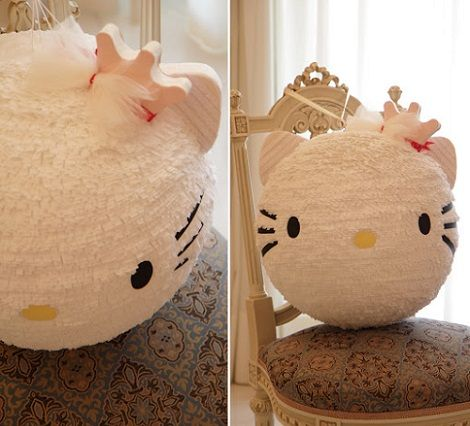 diy ideias festa hello kitty 4