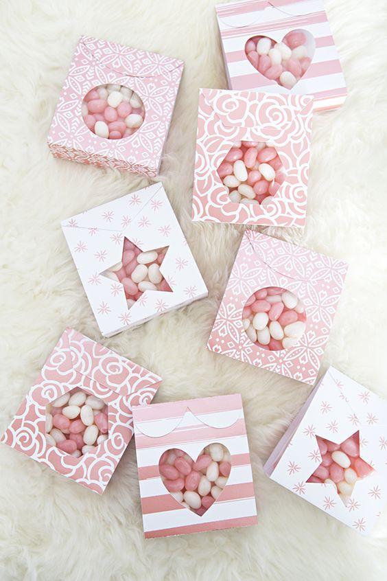 diy lembrancinha maternidade caixa doces