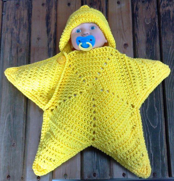 diy manta estrela crochr bebe 2