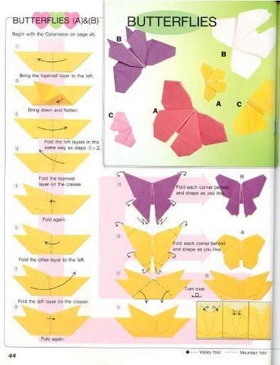 diy origami borboleta 1