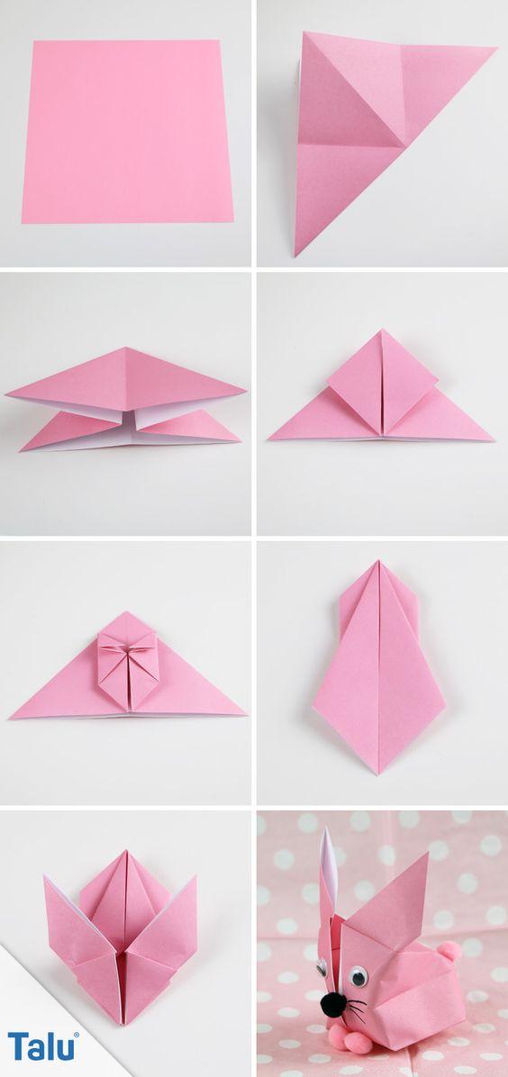 diy origami coelho