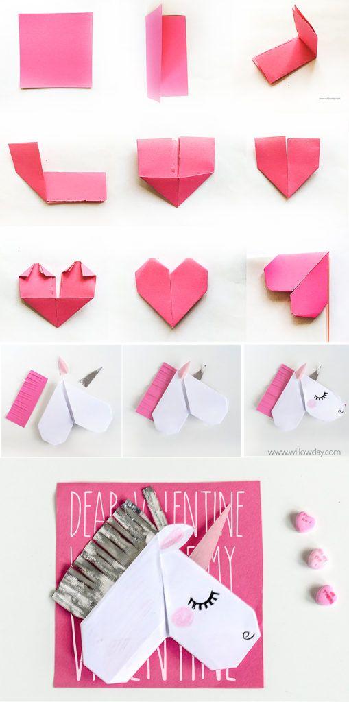 diy origami unicornio