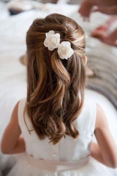 diy penteados de festa menina