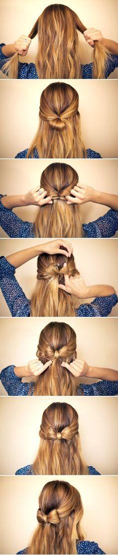 diy-penteados-simples-natal