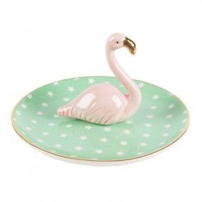 diy porta anel flamingo