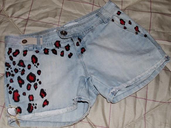 diy shorts oncinha ideias