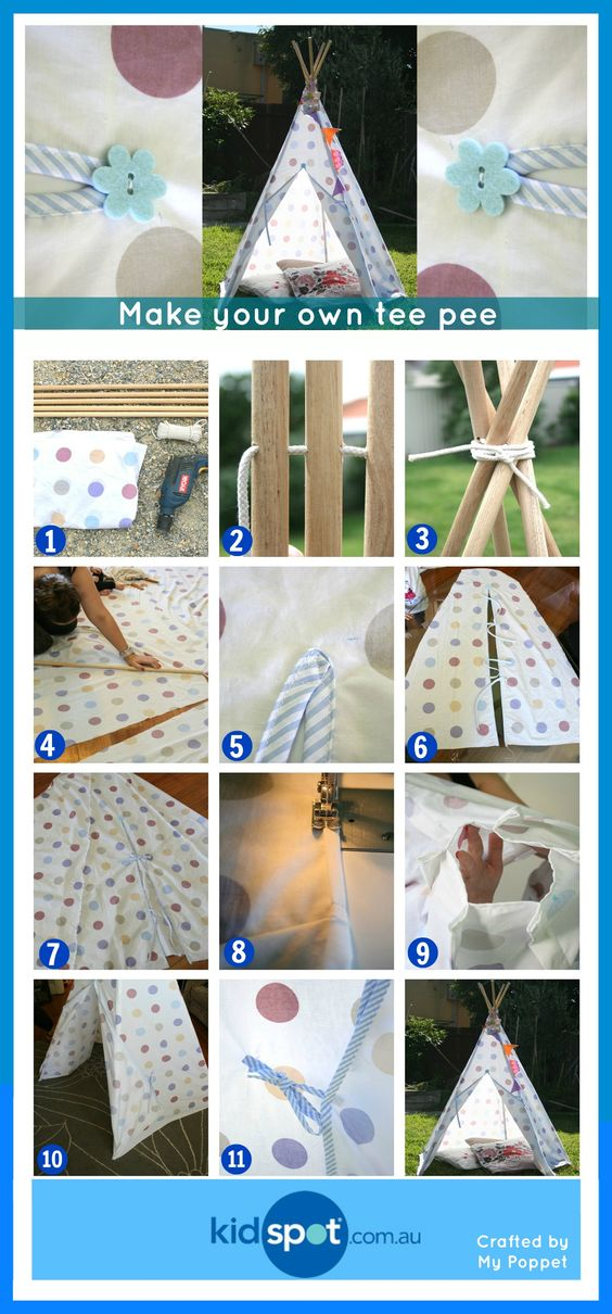 diy tenda tipi