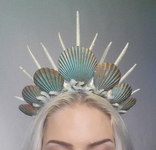 diy tiara carnaval sereia