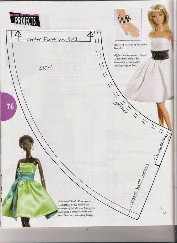 diy vestidos barbie 3