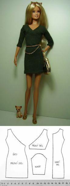 diy vestidos barbie 8