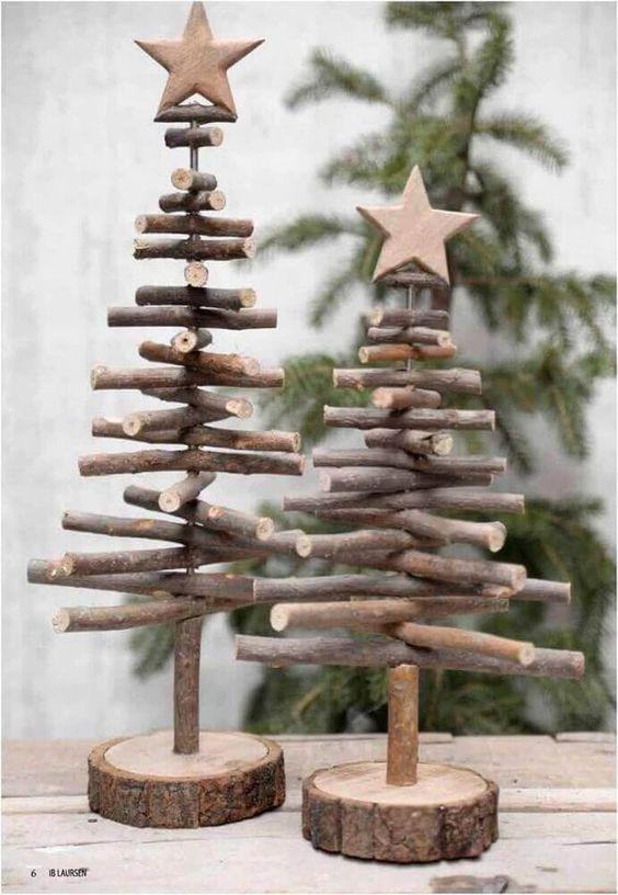 enfeites de natal baratos madeira 1