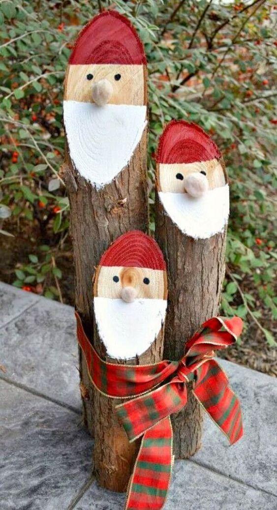 enfeites de natal baratos madeira