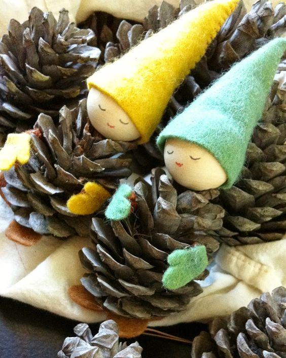 enfeites de natal baratos pinhas 3