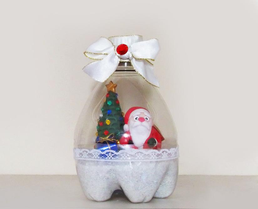 enfeites natal garrafa pet 9