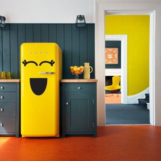 envelopamento geladeira divertido