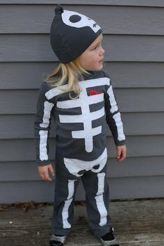 fantasia halloween esqueleto diy