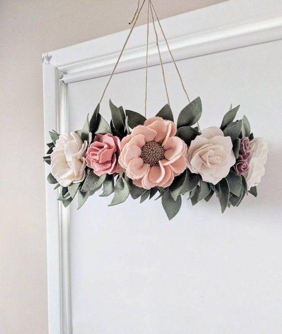 flores feltro ideias 6