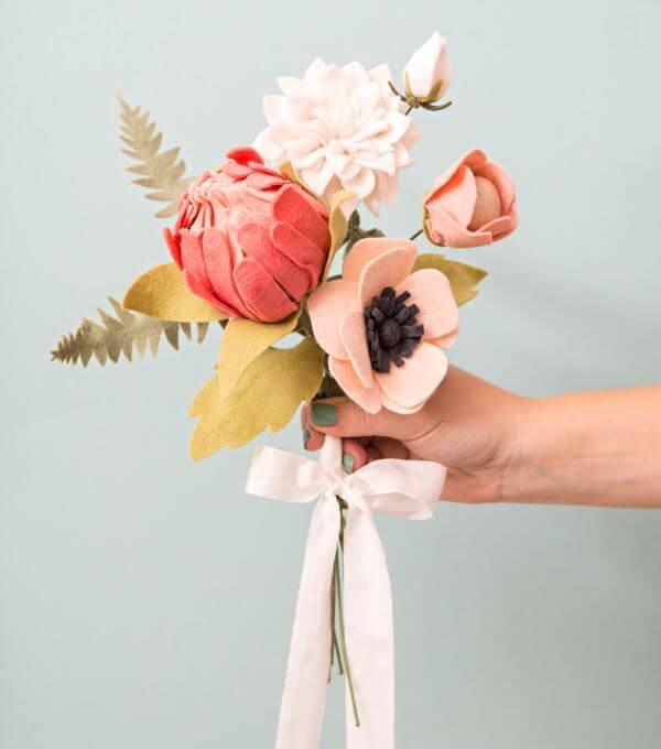 flores feltro ideias 7