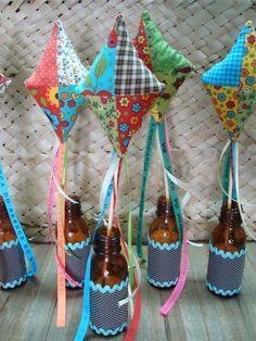 garrafa decorada festa junina 3