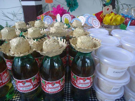 garrafa decorada festa junina 5