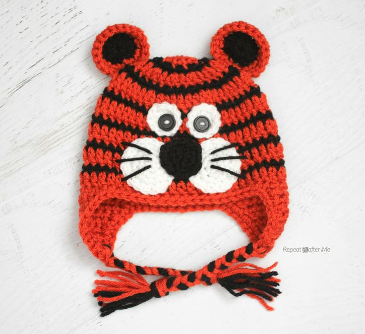 gorro crochet menino animal