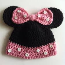 gorro crochet minnie