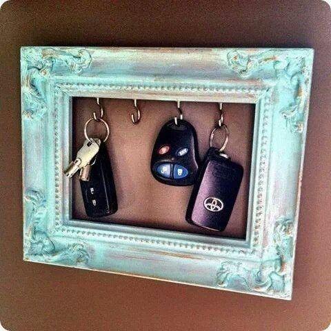 ideia original porta chaves