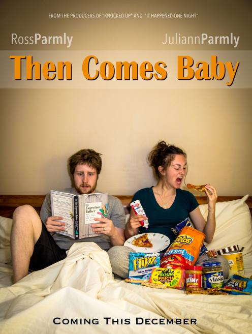 ideia para anunciar gravidez