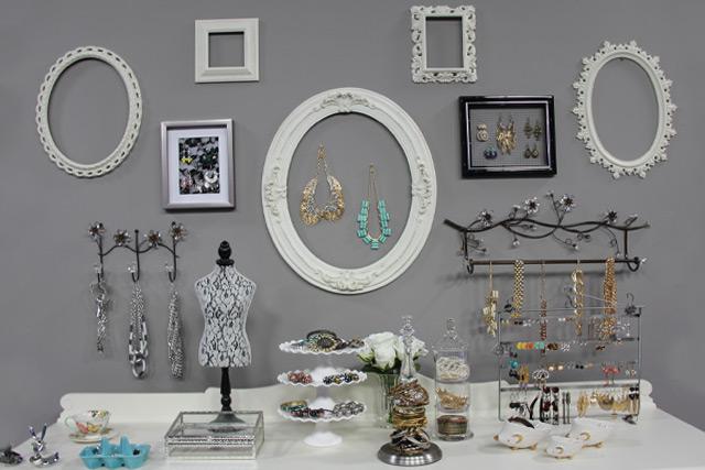 ideia para organizar joias