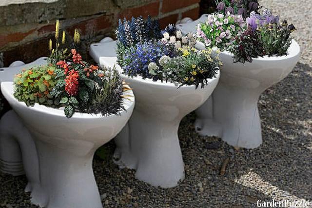ideias artesanato jardim 1