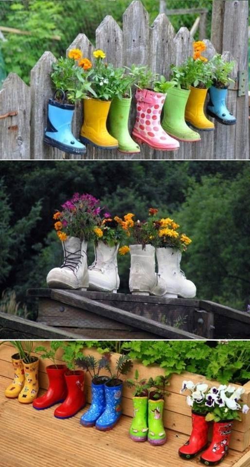 ideias artesanato jardim 11
