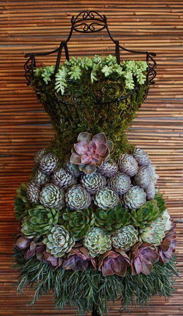 ideias artesanato jardim 12