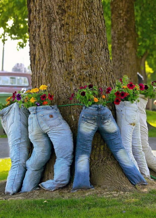ideias artesanato jardim