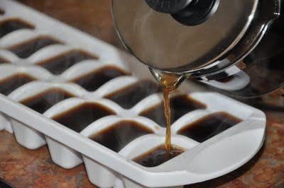 ideias bandeja gelo cafe