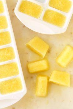 ideias bandeja gelo sumo limão