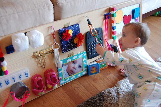 ideias de brinquedos sensoriais