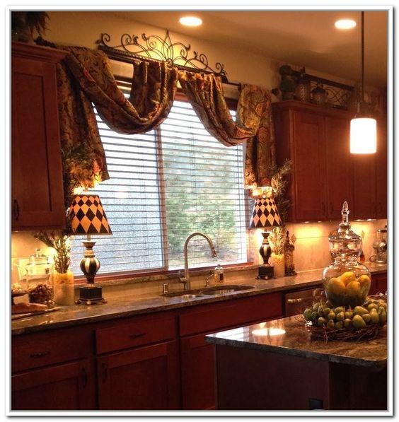 ideias de cortinas para cozinha